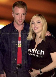 Мадонна (49 лет) и Гай Ричи (39 лет), разница 10 лет