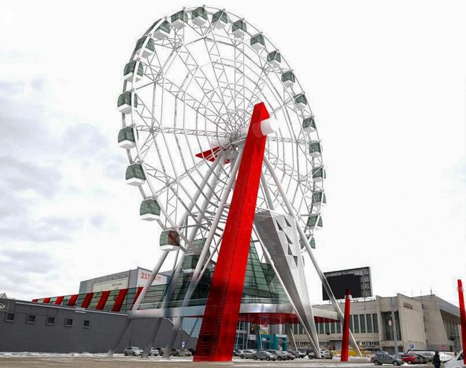 Гигантское колесо обозрения появится в Челябинске