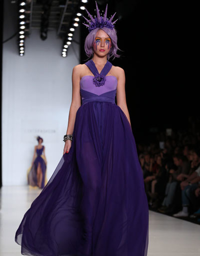 Mercedes-Benz Fashion Week Russia: коллекция CONTRFASHION весна-лето 2013