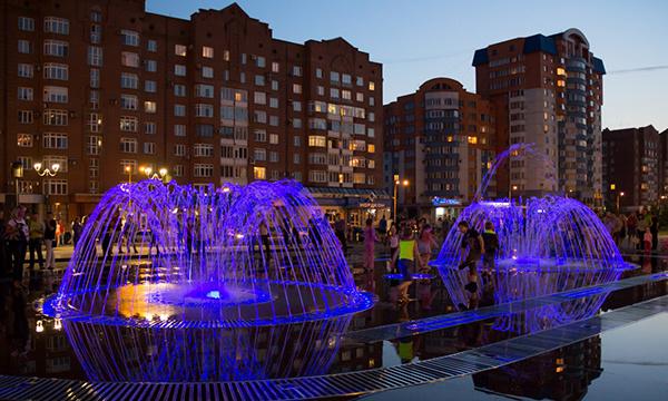 Новокузнецк, поющий фонтан