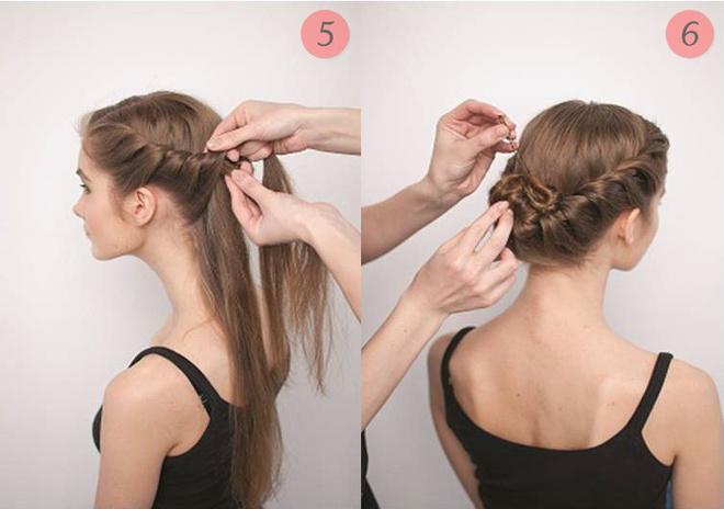 Прическа несложная на длинные волосы