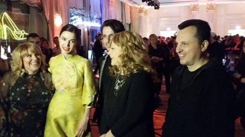 Алла Пугачева презентовала коллекцию обуви