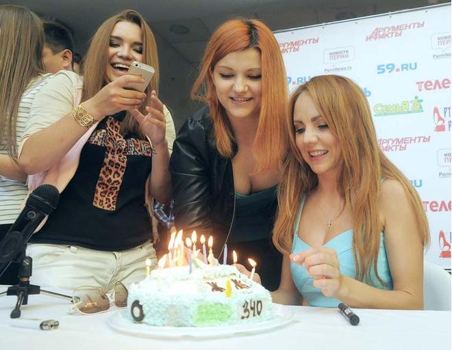 Певица МакSим начала праздновать день рождения в Перми