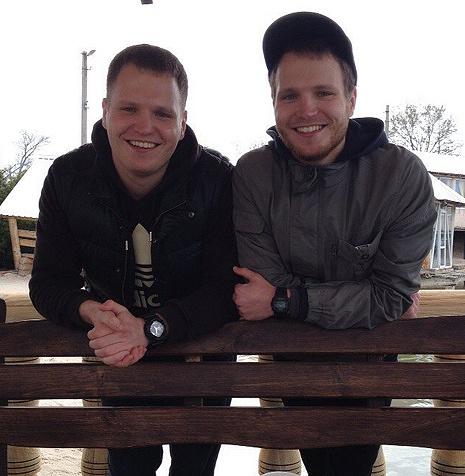 Алексей и Сергей Ромашок, фото