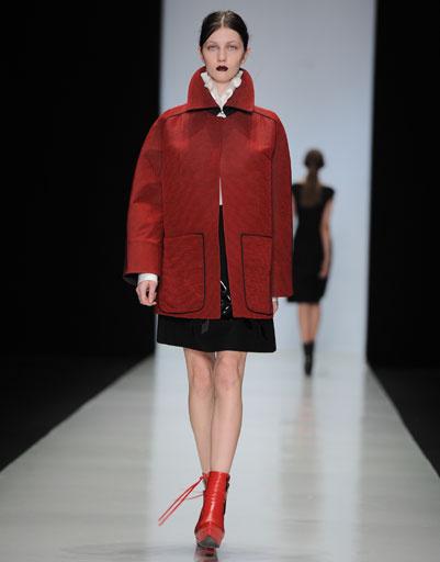 Показ коллекции JUAN VIDAL осень-зима 2013/14 на Mercedes-Benz Fashion Week Russia