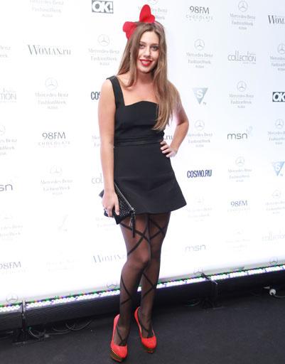 Лоя на Mercedes-Benz Fashion Week весна-2013