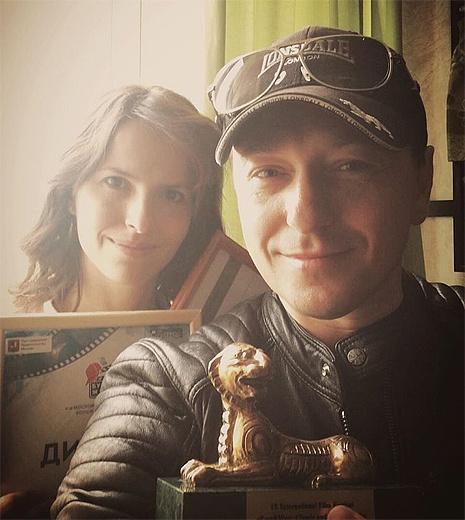 Сергей Безруков и Анна Матисон, фото