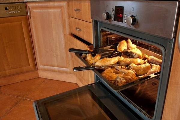 Как приготовить курицу в электродуховке