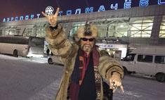 Джигурда в Новосибирске отплясывал в юбке (видео)