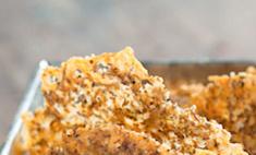 Как приготовить сырные чипсы за 15 минут