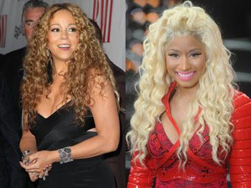 Мэрайя Кэри (Mariah Carey) и Ники Минаж (Nicki Minaj) точно нельзя навазть подругами