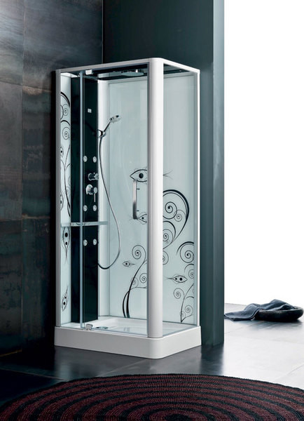 Душевая кабина Kama, Glass, www.glassidromassaggio.it, компания «Акваарт».