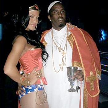 P Diddy и его девушка Кейси Вентура (Cassie Ventura)