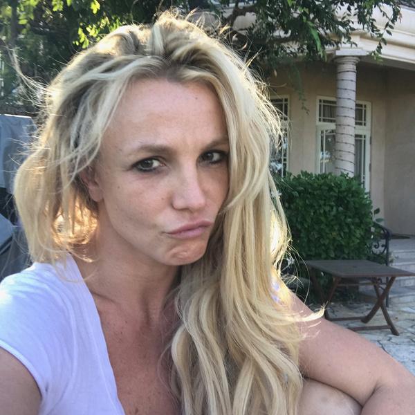 Бритни Спирс не стесняется своих морщин