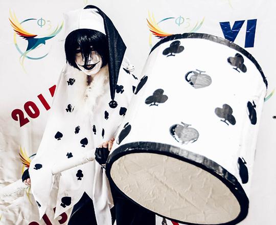 Карточный черный Джокер, фестиваль фэнтези и фантастики