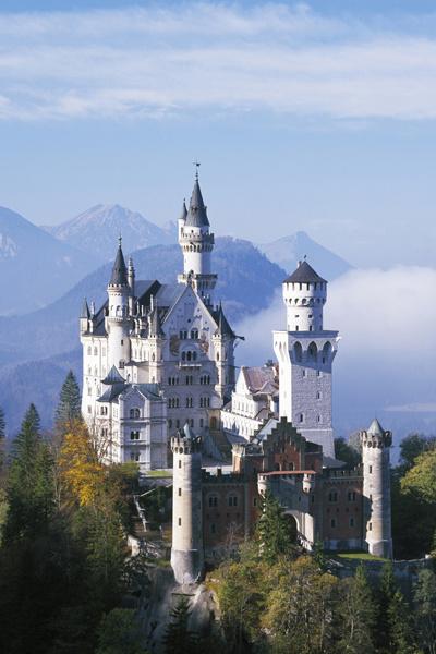 Самые красивые замки: фото