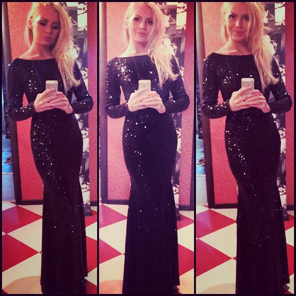 платье в пол, Алена Вражевская