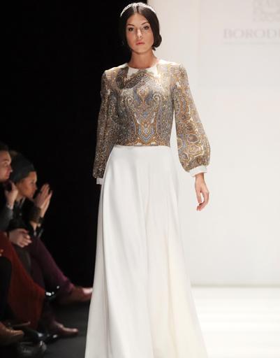 Mercedes-Benz Fashion Week Russia: Borodulin's, осень-зима 2012/13