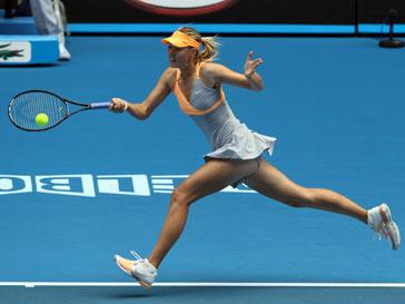 Мария Шарапова начала серию игр Большого шлема с победы