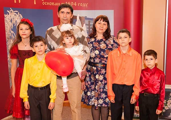 Конкурс «Семья года» Сургут