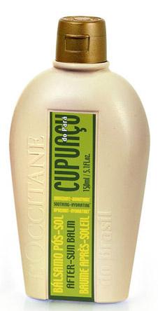 Бальзам после загара от L'Occitane. Мгновенно успокаивает кожу, восстанавливает уровень увлажненности, делает естественный загар более стойким.