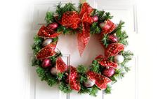 Новогодний hand-made: делаем рождественский венок