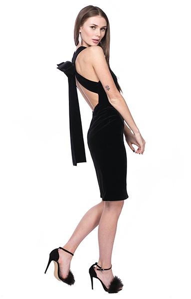 Платье бархатное Peony Fashion, фото