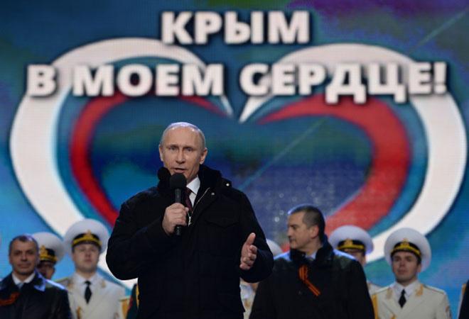 Путин, Крым