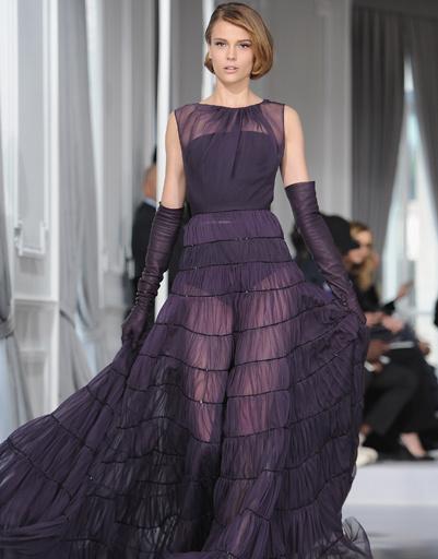 Christian Dior Haute Couture, коллекция весна-лето 2012