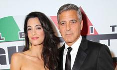 Клуни не расстается с женой больше чем на неделю