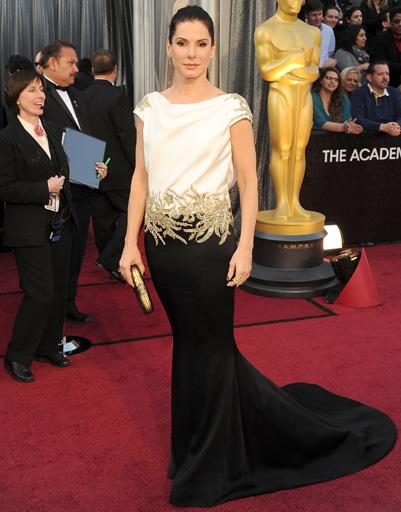"Сандра Баллок (Sandra Bullock) на ""Оскаре-2012"""
