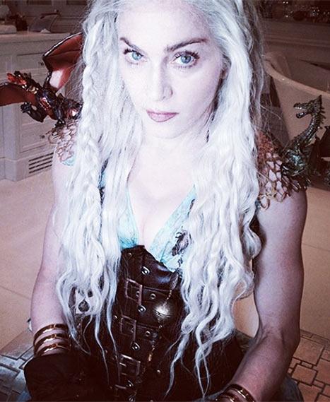"""Мадонна в образе Дейнерис из """"Игры престолов"""""""