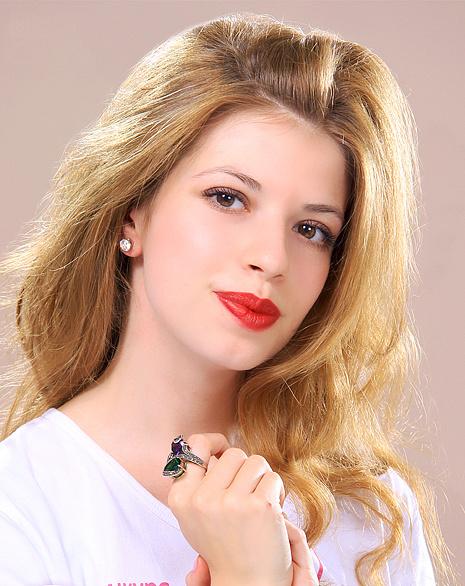 Инга Севковская, участница конкурса «Мисс Мегаполис», фото