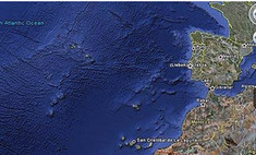 Google нашел город на дне Атлантического океана