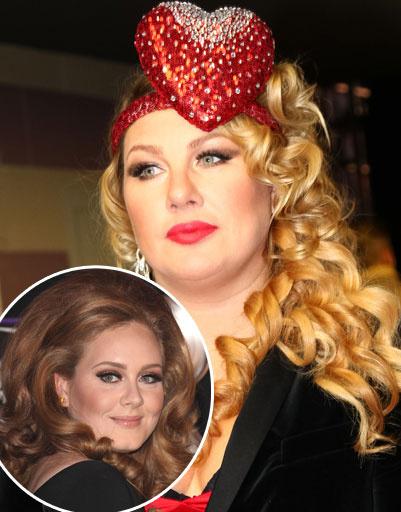 Ева Польна и Адель (Adele)