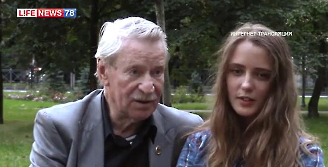 84-летний актер Иван Краско женится на 24-летней ученице