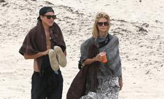 Хайди Клум засветилась с 28-летним бойфрендом на пляже