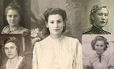 Черно-белый фотопроект Woman's Day. Моя бабушка – красавица!
