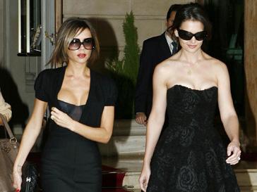 Виктория Бекхэм (Victoria Beckham) и Кэти Холмс (Katie Holmes) подружились в 2006 году