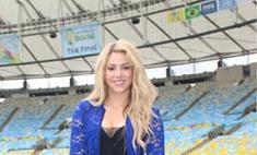 Шакира готовится к финалу ЧМ-2014