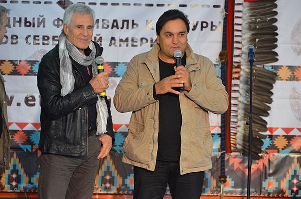 Гойко Митич и Руслан Байрамов