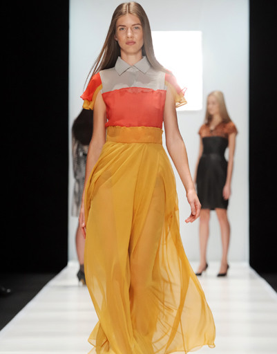Mercedes-Benz Fashion Week Russia: Tatiana Sulimina, осень-зима 2012/13