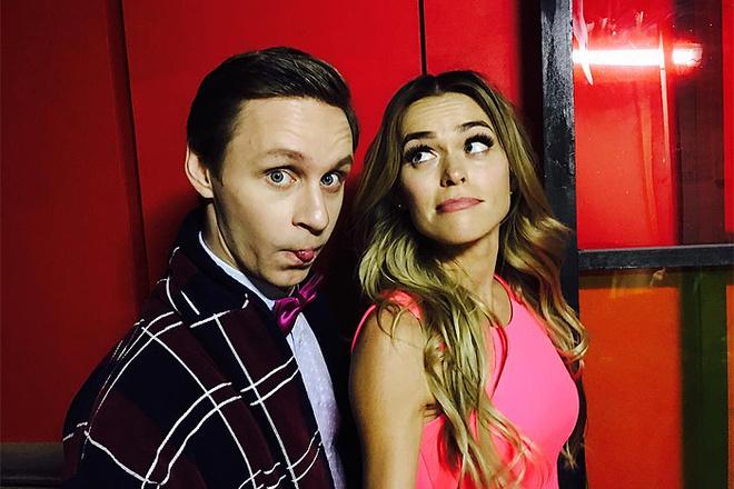 Анна Хилькевич и Александр Стекольников, фото