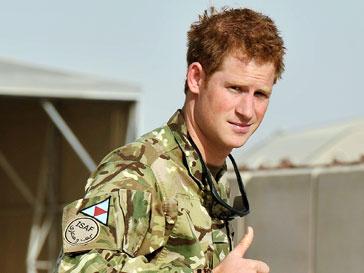 Принц Гарри (Prince Harry) был далеко от места сражения