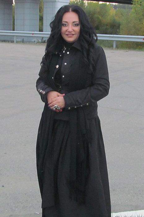 Фатима Хадуева в Барнауле
