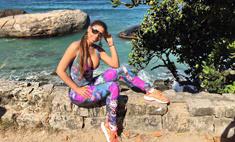 Звезда «Голоса» выпустила коллекцию одежды для фитнеса