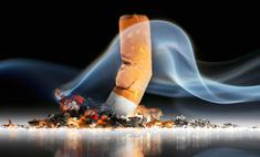 Курение признали одним из симптомов нищеты
