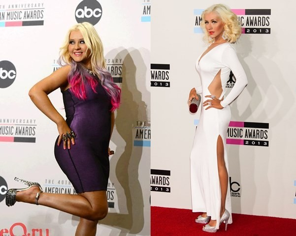 Christina Aguilera weight loss!