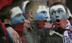 Сборная России по футболу сменила цвет