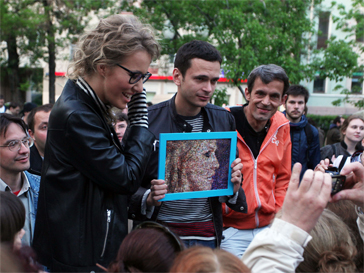 Ксения Собчак и Илья Яшин